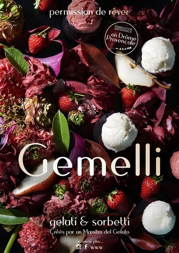 Glaces et sorbets Gemelli