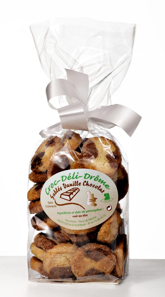 Sablés Vanille-Chocolat